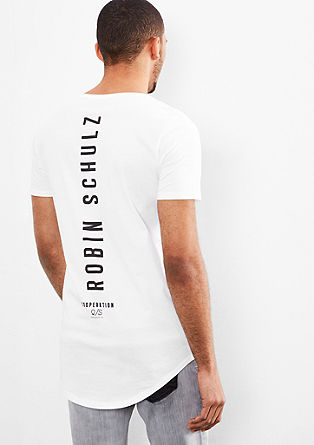 T-shirt with a print on the back from s.Oliver