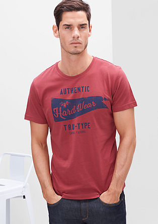 T-shirt with a sporty print from s.Oliver