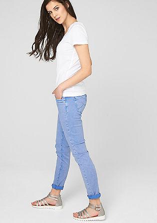 Tajlirana, barvno usklajena kratka majica