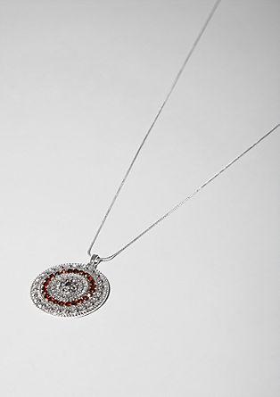 Tanka ogrlica z okrasnim obeskom