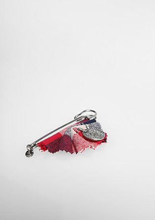 Tartan brooch from s.Oliver