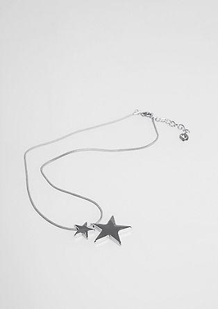 Tekstilna verižica s sijočimi zvezdami