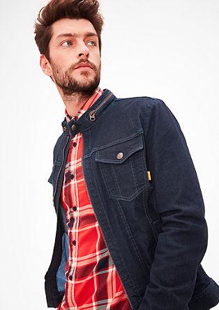 Temna jeans jakna