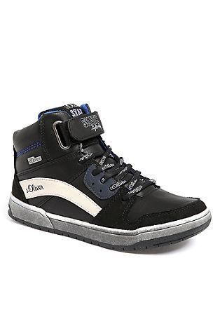 Tex-Booties im Skater-Stil