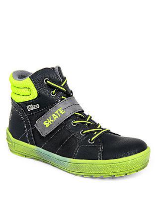Tex-booties in een skater look