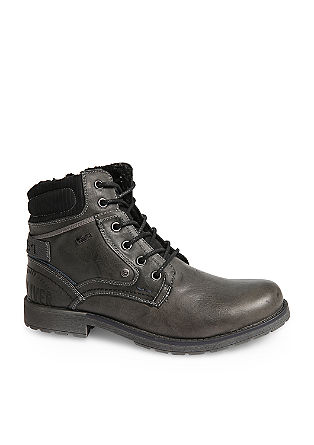 Tex-Boots im Materialmix
