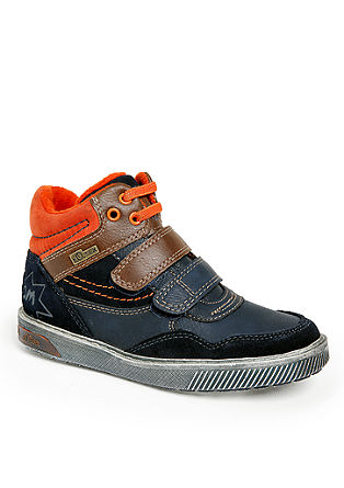 Tex-Boots im Materialmix mit Leder