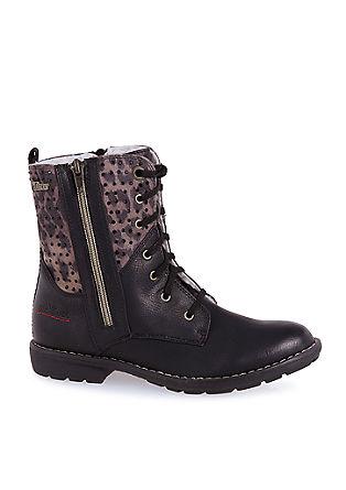 Tex-boots met glamouraccenten