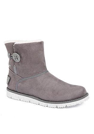Tex-Boots mit Plüschfutter