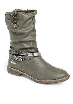 Tex-Stiefel mit Plüschfutter