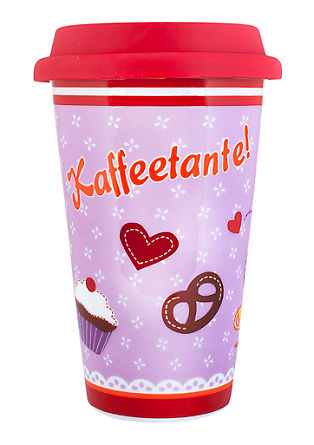 "Thermobecher ""Kaffeetante"""