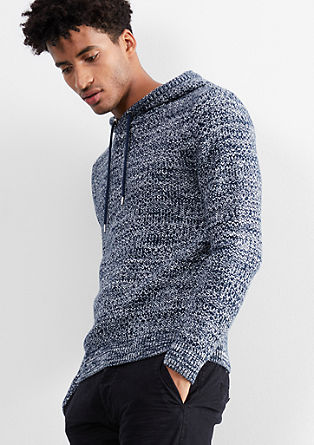 Thick knit hoodie from s.Oliver