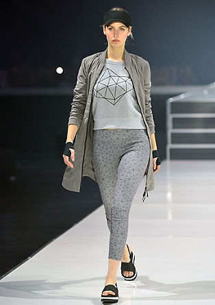 Tights with a geometric print from s.Oliver