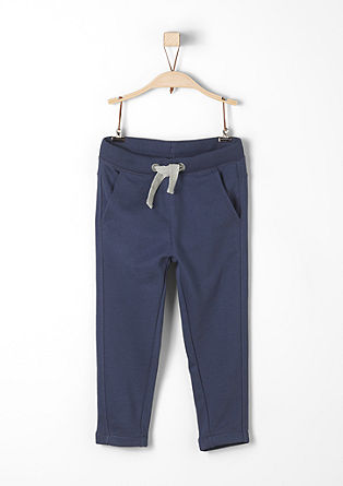 Tone-in-tone tracksuit bottoms from s.Oliver