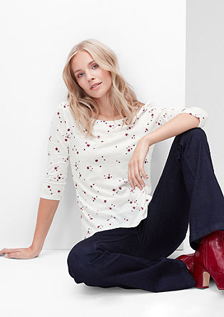 Top with a star print from s.Oliver