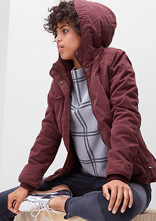 Topla jakna s kapuco