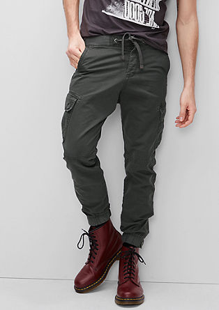 Tracksuit bottoms in a cargo style from s.Oliver