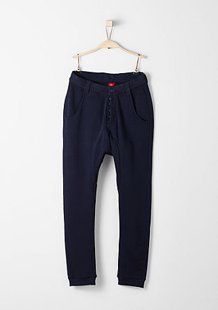 Tracksuit bottoms in a chino style from s.Oliver
