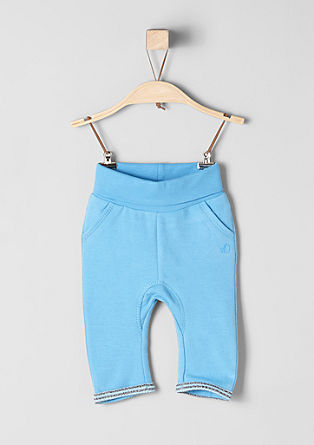Tracksuit bottoms with a warm inner surface from s.Oliver