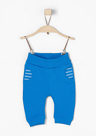 Tracksuit bottoms with a wide waistband from s.Oliver