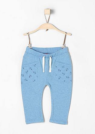 Tracksuit bottoms with anchor print from s.Oliver