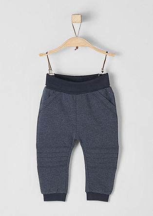 Tracksuit bottoms with biker details from s.Oliver