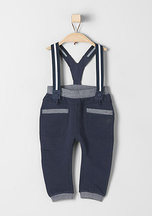 Tracksuit bottoms with braces from s.Oliver