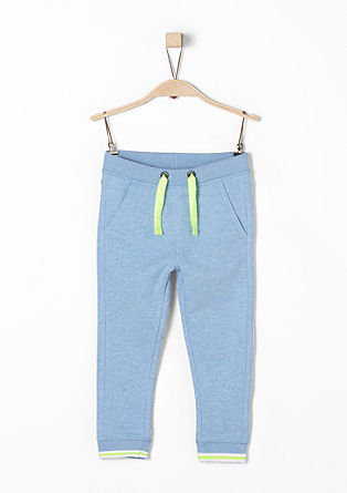 Tracksuit bottoms with neon details from s.Oliver