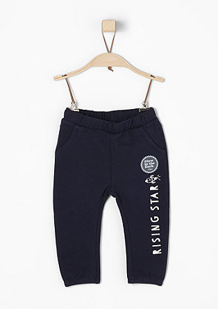 Tracksuit bottoms with printed lettering from s.Oliver