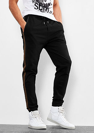Tracksuit bottoms with stripes from s.Oliver