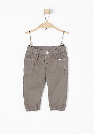 Tracksuit-style cloth trousers from s.Oliver