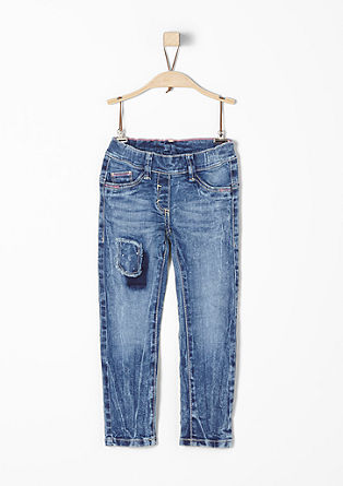 Treggings: Jeans with an appliqué from s.Oliver