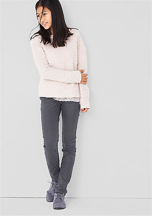 Treggings: stretch jeans with pre-worn creases from s.Oliver