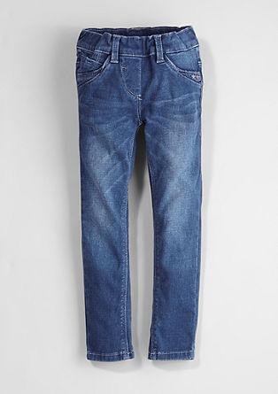 Treggings Skinny: jeans hlače z vezenino
