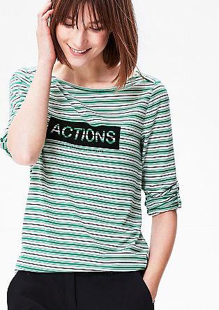 Tričko s natištěným nápisem