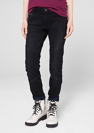 Tube: biker style jeans from s.Oliver