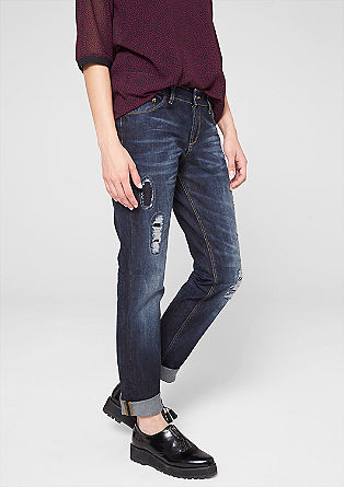 Tube: jeans with ripped effects from s.Oliver