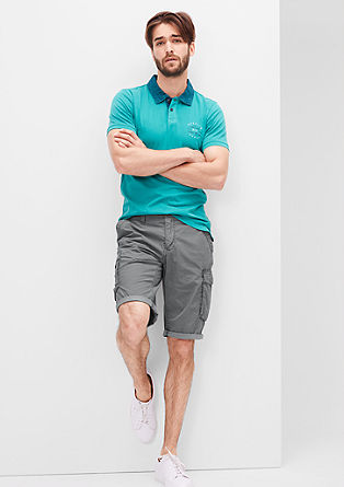 Tubx Regular: chinos with a minimalist print from s.Oliver