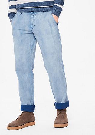Tubx Regular: Raztegljive hlače chino