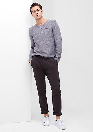 Tubx Regular:črtaste hlače chino