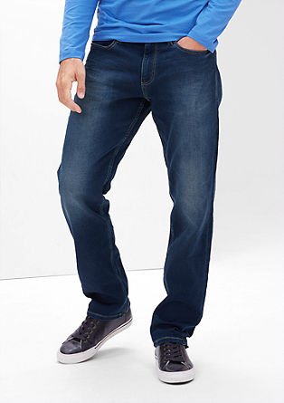Tubx Straight: Bequeme Stretch-Jeans
