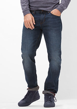 Tubx Straight: classic blue jeans from s.Oliver