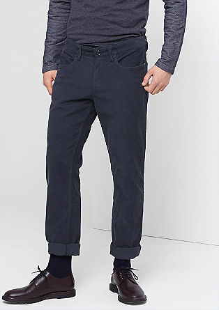 Tubx Straight: corduroy trousers from s.Oliver