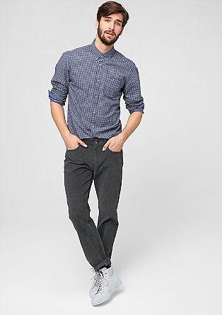 Tubx Straight: hlače iz tkanine moleskin