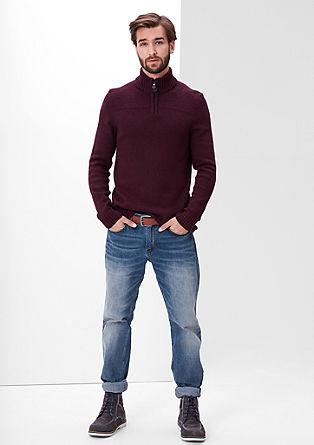 Tubx straight: jeans met riem
