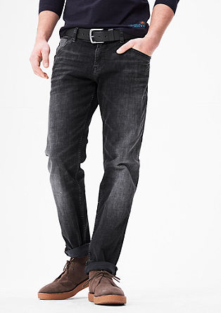 Tubx Straight: jeans with a belt from s.Oliver