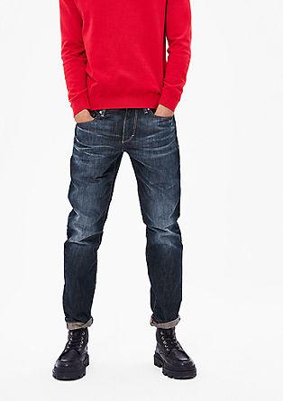 Tubx Straight: klasične modre jeans hlače