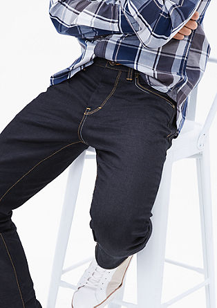 Tubx Straight: klasične temne jeans hlače