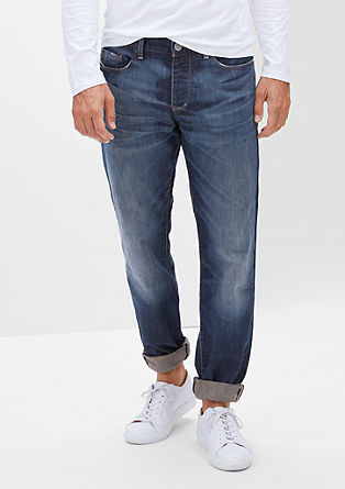Tubx Straight: Markantne jeans hlače