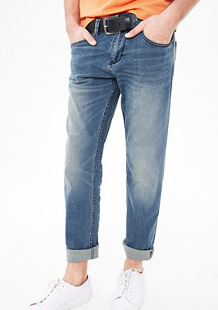 Tubx Straight: pale blue jeans from s.Oliver